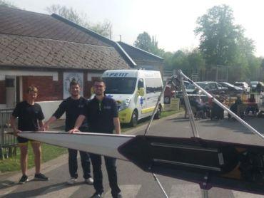 Les «Ambulance Petit» ont assuré l'assistance médicale sur les régates d'aviron en ce 1er mai.